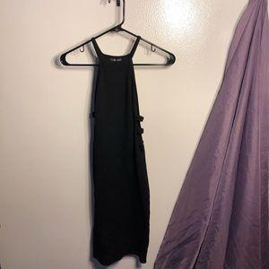 Timing Little Black Dress Sideboob Cutout Sexy